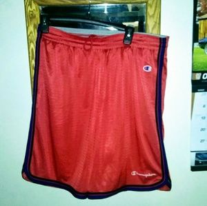 Champion jersey style shorts men's Large
